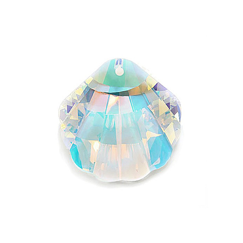 Swarovski Shell 6723 16mm Crystal AB