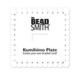 Kumihimo Plate 6 inch Square vierkant