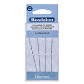 Beadalon Collapsible eye needles 6,4cm heavy 4 pack