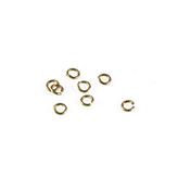 Aanbuig ringetjes 3mm goud