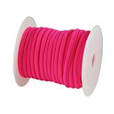 Elastisch Lint Ibiza 5mm wraparmbanden DIY ibiza armband Modi armbanden neon roze