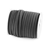 Elastisch Lint Ibiza 5mm wraparmbanden DIY ibiza armband Modi armbanden antraciet