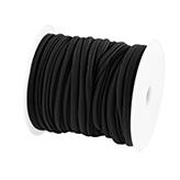 Elastisch Lint Ibiza 5mm wraparmbanden DIY ibiza armband Modi armbanden zwart