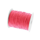 Elastiek draad 1mm hot pink red
