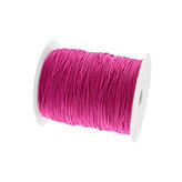 Elastiek draad 1mm Ruby purple