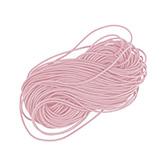 Elastiek draad 0,8mm licht roze