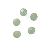 DQ Fire-polish facet Rond Jade Opaal 8mm