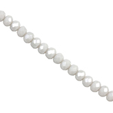 Top Facet kralen 4x3 mm disc Gentle grey-pearl diamond coating