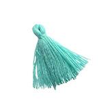 Hanger kwastje flosje flosjes tassel turquoise