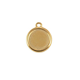 DQ Hanger cameo setting 20mm goud voor polaris cabochon