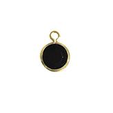 DQ Facethanger goud met zwart opaque