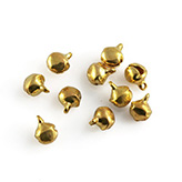 Belletjes 8mm geel goud