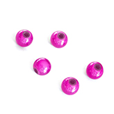 Miracle bead fuchsia 6mm