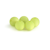 Polaris kralen bead mat 8mm lime