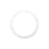 Resin hanger rond 35mm Bright white