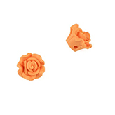 Fimo bloem 12mm sunset orange