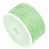Waxkoord 1mm Crysolite green