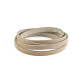 DQ Leer plat 6mm light taupe