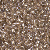 MIYUKI Delica Seed Beads DB907 11/0 Round - Sparkling Lt Bronze DB-907