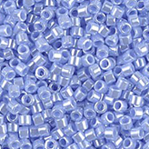MIYUKI Delica Seed Beads DB1568 11/0 Round - Opaque Agate Blue Luster DB-1568