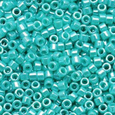 MIYUKI Delica Seed Beads DB1567 11/0 Round - Opaque Sea Opal Luster DB-1567