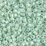 MIYUKI Delica Seed Beads DB1506 11/0 Round - Opaque Light Mint AB DB-1506