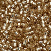 MIYUKI Delica Seed Beads DB2155 11/0 Round -  Duracoat Dyed Silver Lined Mica DB-2155