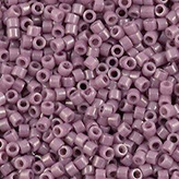 MIYUKI Delica Seed Beads DB265 11/0 Round - Opaque Mauve Luster  DB-265