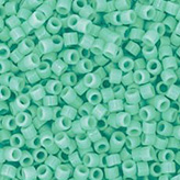 MIYUKI Delica Seed Beads DB2125 11/0 Round - Duracoat Dyed Opaque Sea Opal DB-2125
