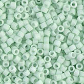 MIYUKI Delica Seed Beads DB1516 11/0 Round - Matte Opaque Light Mint DB-1516
