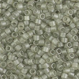 MIYUKI Delica Seed Beads DB383 11/0 Round - Matte Transparent Oyster Luster DB-383