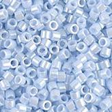 MIYUKI Delica Seed Beads DB1537 11/0 Round - Opaque Lt Sky Blue Ceylon DB-1537
