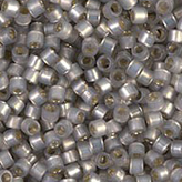 MIYUKI Delica Seed Beads DB630 11/0 Round -Silverlined Light Taupe Alabaster DB630