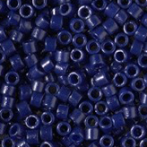 MIYUKI Delica Seed Beads DB2144 11/0 Round - Duracoat Dyed Matte Opaque Cobalt DB-2144