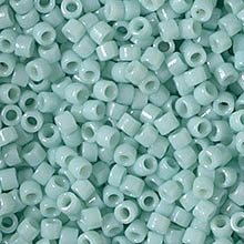 MIYUKI Delica Seed Beads DB2356 11/0 Round - Duracoat Opaque Ocean Spray DB-2356