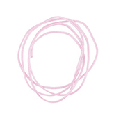 Nylon koord shamballakoord mousetail satijn 0,8mm Baby Roze
