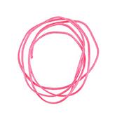 Nylon koord shamballakoord mousetail satijn 0,8mm Bright Neon pink