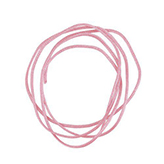 Nylon koord shamballakoord mousetail satijn 1mm Light rose