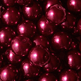 Glasparel 10mm bordeaux rood