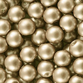 Glasparel mat 8mm champagne goud