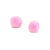 Pompom bedel 8mm Light pink