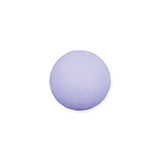 Plaksteen cabochon camee polaris mat 12 mm Lavender paars