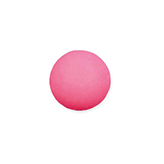 Plaksteen cabochon camee polaris mat 12 mm soft rose pink