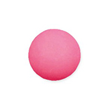Plaksteen cabochon camee polaris mat 15 mm soft rose pink