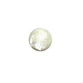 Plaksteen cabochon camee Polaris pearl shine 11,5mm wit