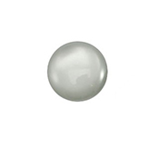 Plaksteen cabochon camee Polaris shiny 12mm black diamond