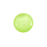 Plaksteen cabochon camee Polaris shiny 11,5mm Tender Green