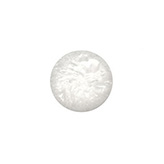 Plaksteen cabochon camee polaris Crushed Ice 12 mm silver shade