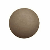 Plaksteen cabochon camee polaris mat 20 mm Taupe
