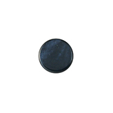 Polaris cabochon plat 12mm Mosso shiny Blue iris